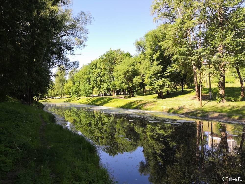 Поездка в Витебск - что посмотреть - Парк в центре города