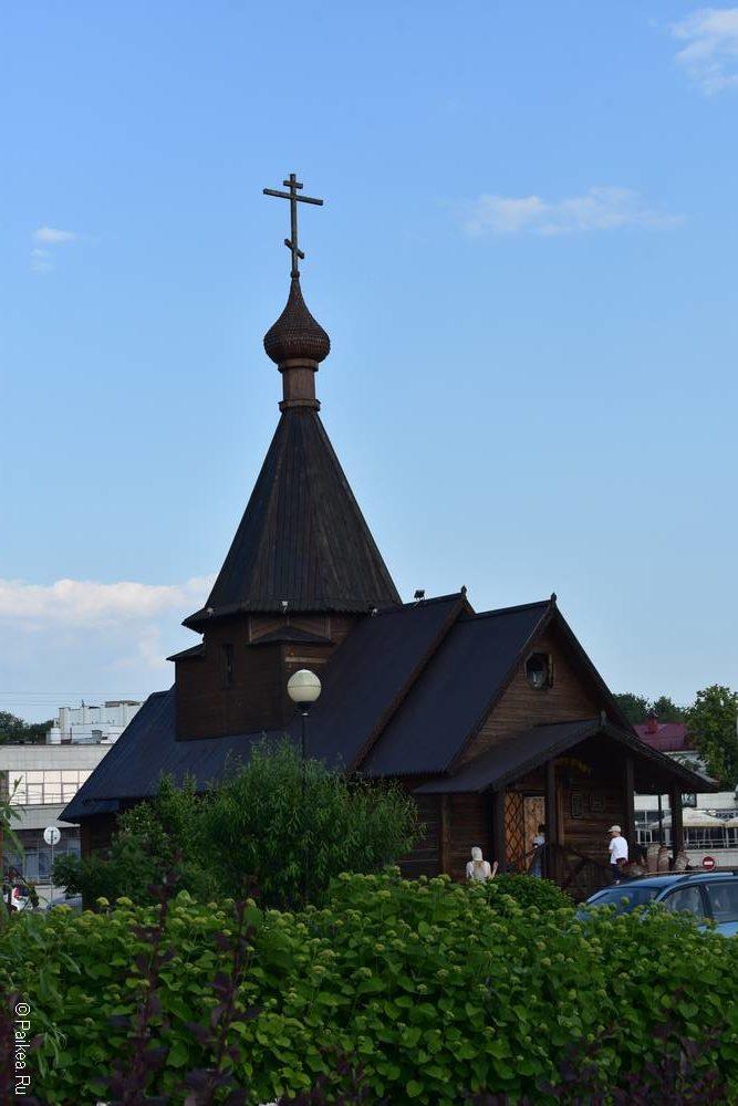 Деревянный храм, Витебск