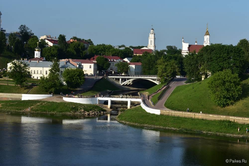 Поездка в Витебск - что посмотреть - На стрелке двух рек