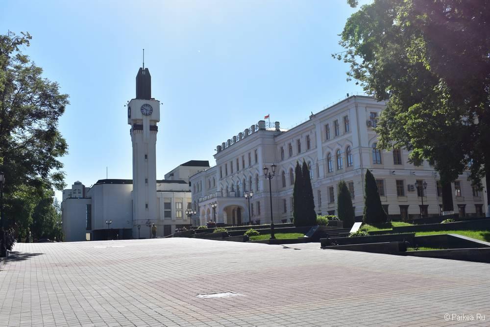 Башня с часами на улице Гоголя, Витебск