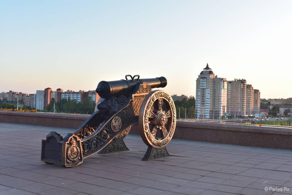 Пушка в Витебске