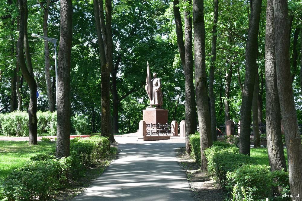 Памятник советскому воину, Витебск