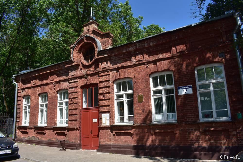 Старый кирпичный дом в Витебске