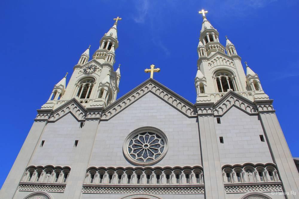 Церковь Святых Петра и Павла в Сан-Франциско 22