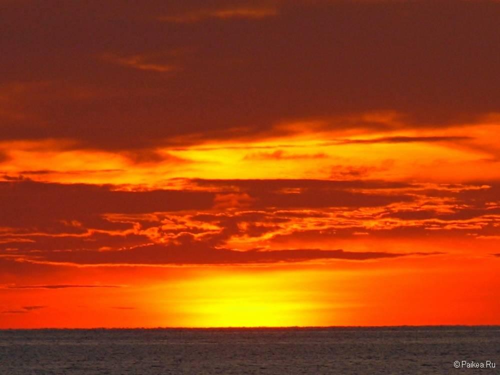 Самые красивые закаты и рассветы мира 11
