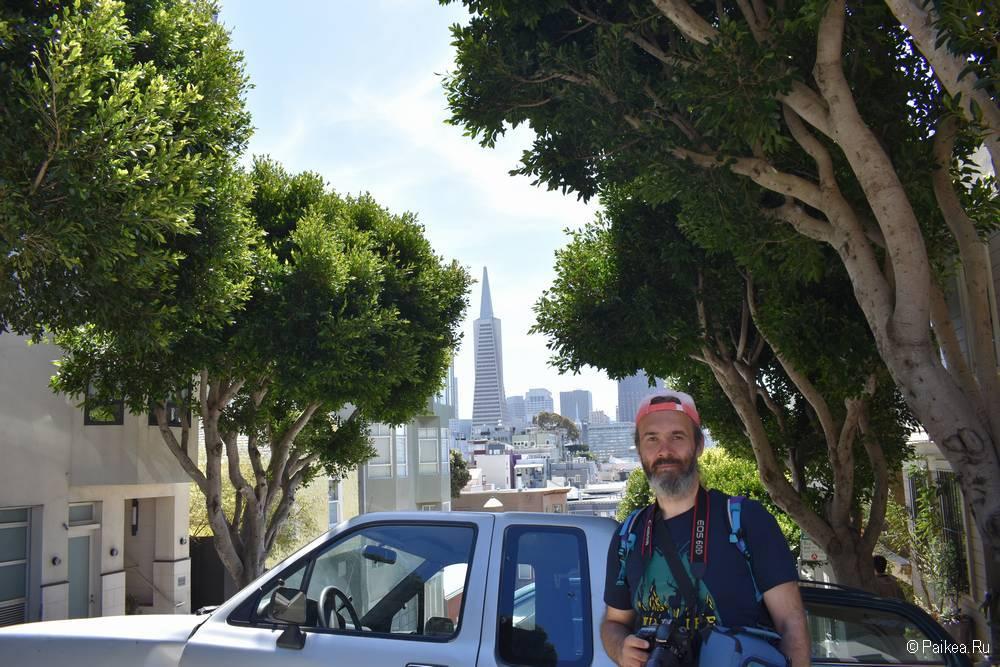 Пирамида Трансамерика - небоскреб в Сан-Франциско 03