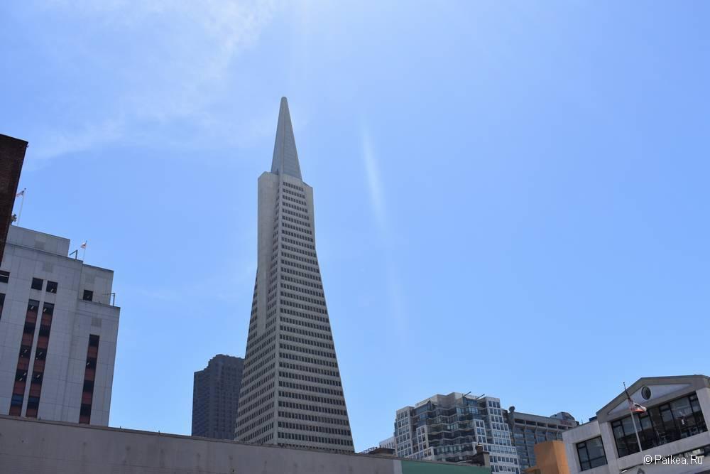 Пирамида Трансамерика - небоскреб в Сан-Франциско 04