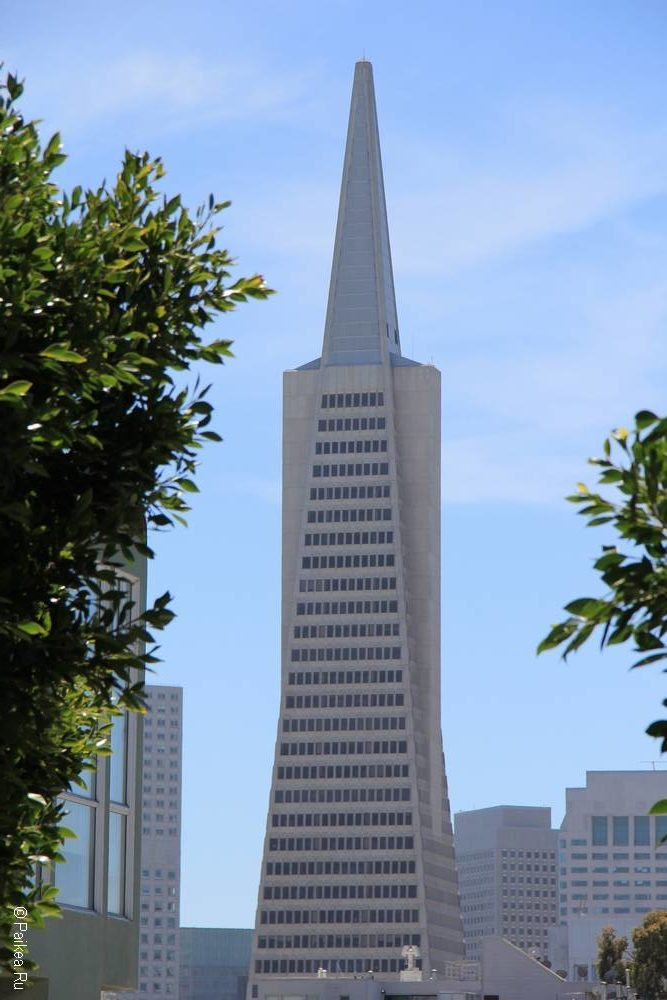 Пирамида Трансамерика - небоскреб в Сан-Франциско 14