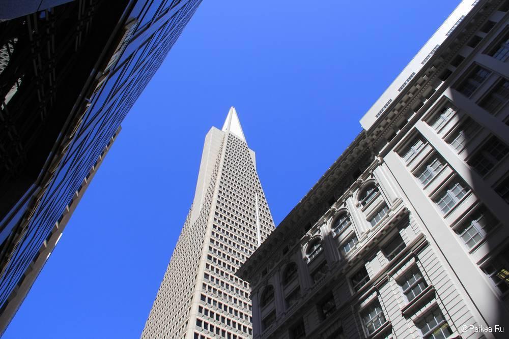 Пирамида Трансамерика - небоскреб в Сан-Франциско 25