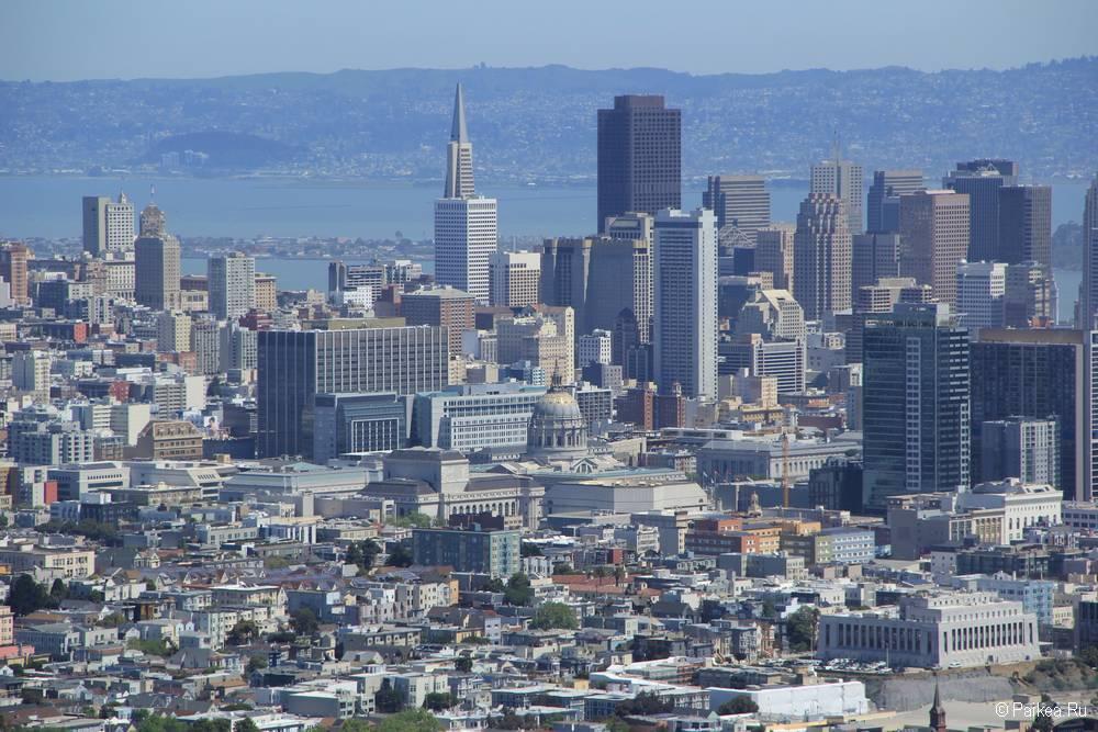 Пирамида Трансамерика - небоскреб в Сан-Франциско 29