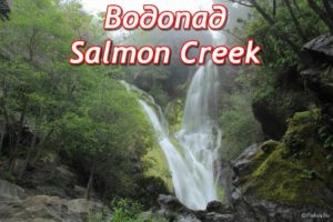 водопад салмон крик (salmon creek falls)