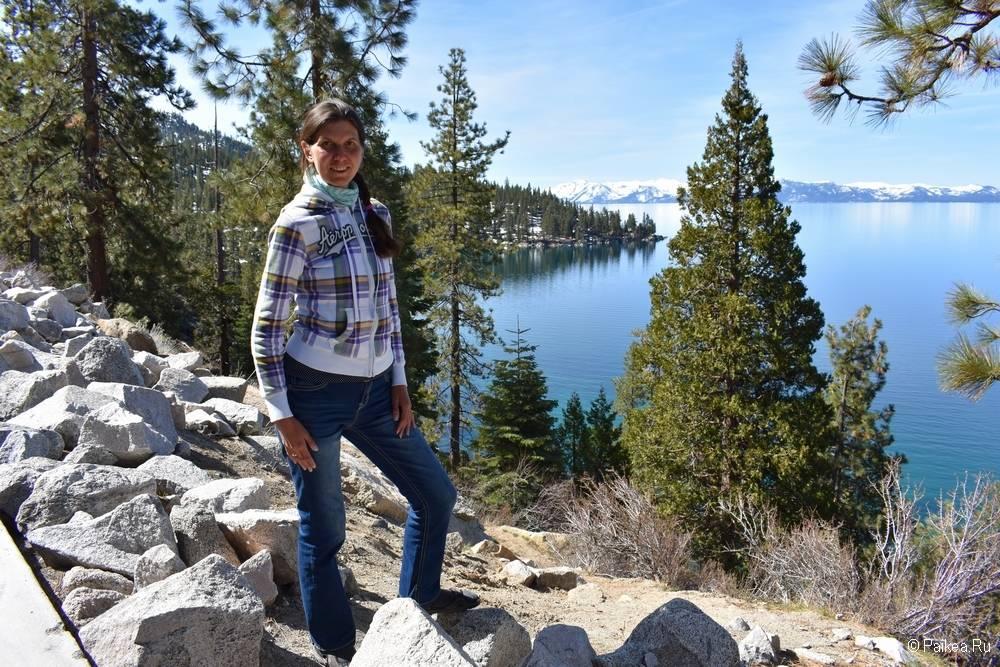 северная калифорния озеро тахо