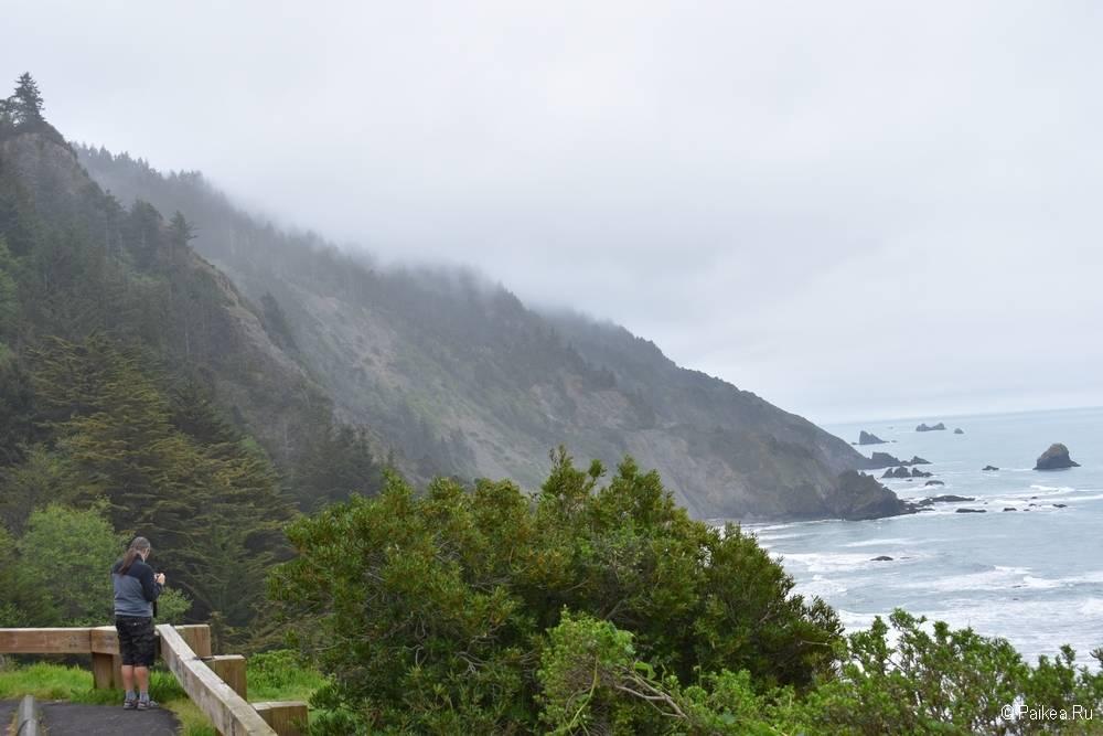 северная калифорния побережье