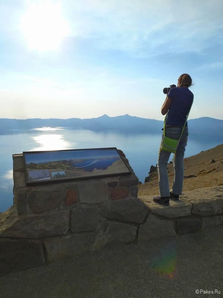 северная калифорния озеро крейтер