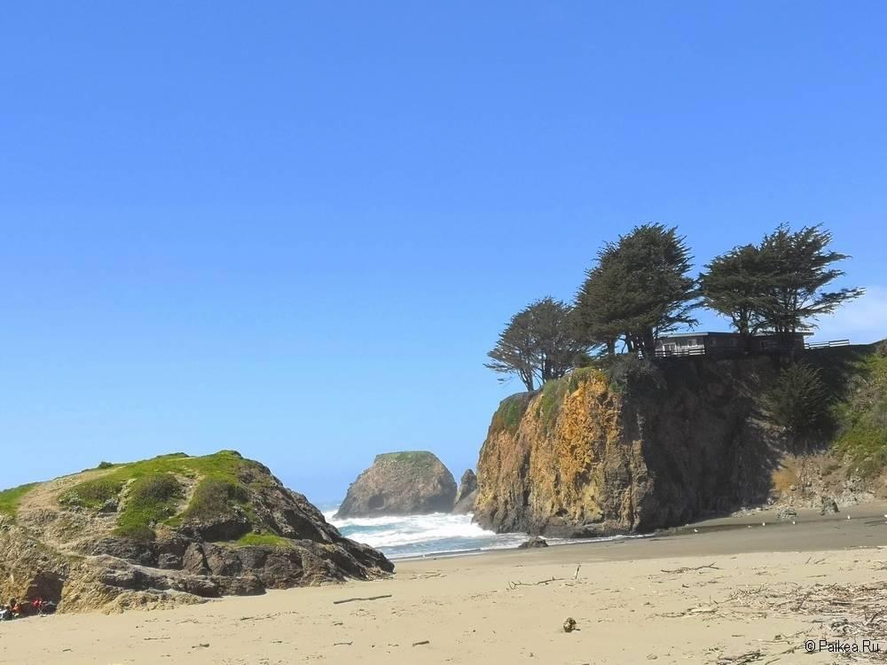фото пляжа в северной калифорнии