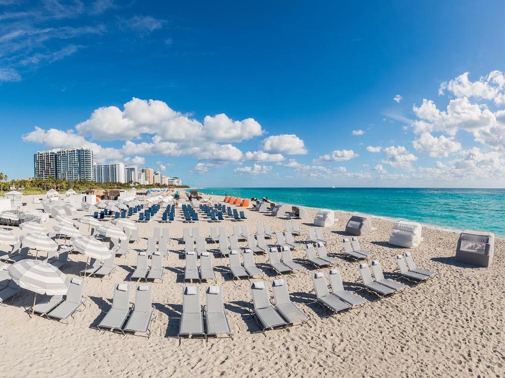 отели майами на пляже