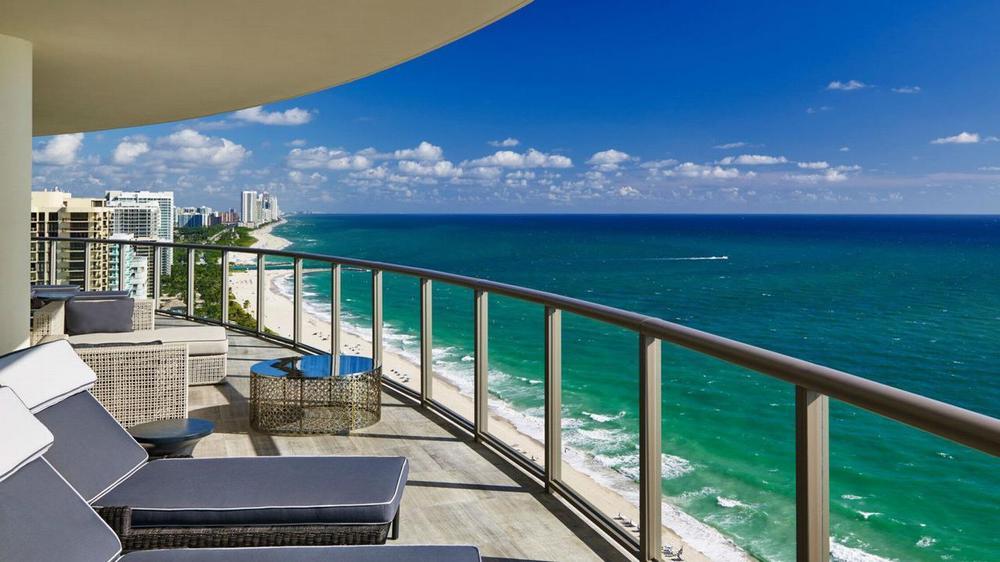 отели майами с пляжем